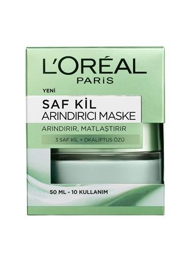 L'Oréal Paris L'Oréal Paris Saf Kil Arındırıcı Maske Renksiz